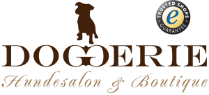 Doggerie Logo mit Trusted Shops Siegel